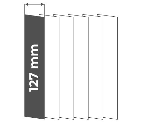 Vertikální žaluzie 127mm
